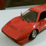 01109 Polistil 1:16 FERRARI 288 GTO red diecast road car model made in italy